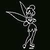 Disney Window Decal - Tinker Bell - Pretty Little Pixie