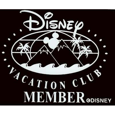 Disney Window Decal Disney Vacation Club Member