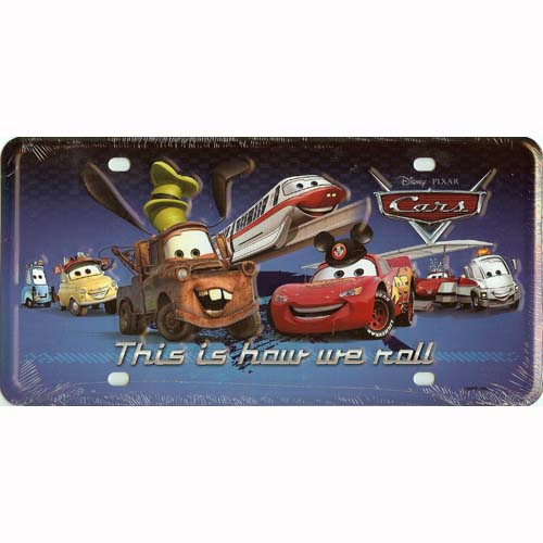Your Wdw Store Disney License Plate Cars This Is How