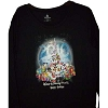 Disney Women's Long Sleeve Shirt - Happy Holidays 2010 Black