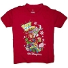 Disney CHILD Shirt - Christmas - Toy to the World - Red - Short Sleeve