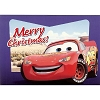 Disney Christmas Cards - Lightning McQueen - Blue