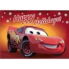 Disney Christmas Cards - Lightning McQueen - Red
