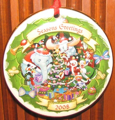 2014 Dated Christmas Ornaments