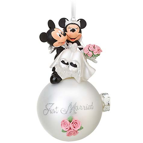 Your WDW Store - Disney Christmas Ornament - Mickey Minnie Mouse ...