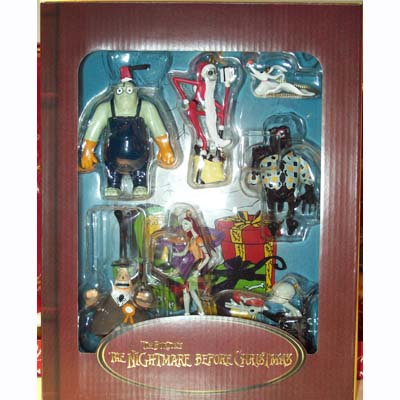 Your WDW Store - Disney Christmas Ornament Set - Nightmare Before ...
