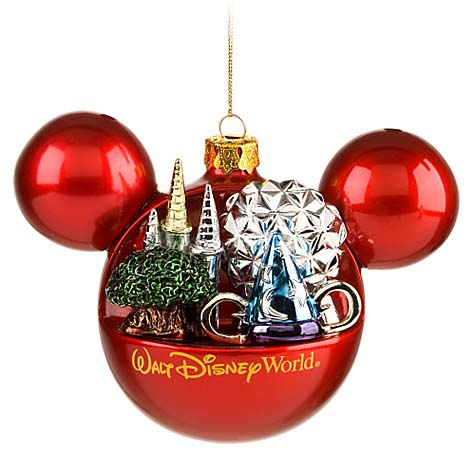 Your WDW Store - Disney Christmas Ornament - Mickey Mouse Ears ...