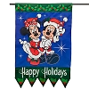 Disney Flag Banner - Christmas - Santa Mickey and Minnie Mouse