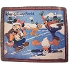 Disney Holiday Throw Blanket - Mickey Mouse Fab 5 Ice Skating