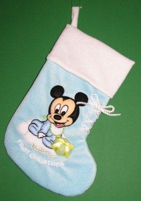 Your WDW Store - Disney Christmas Stocking - Mickey Mouse - Baby's ...