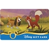 Disney Collectible Gift Card - Fox and the Hound