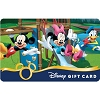 Disney Collectible Gift Card - Mickey & Friends on the Playground
