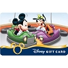 Disney Collectible Gift Card - Mickey & Goofy - Bumper Cars