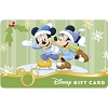 Disney Collectible Gift Card - Ice Skating Minnie and Mickey