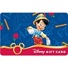 Disney Collectible Gift Card - Pinocchio - Back to School