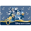 Disney Collectible Gift Card - Mickey & Friends - Fish 'n Ships