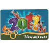 Disney Collectible Gift Card - 2011 Logo