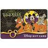 Disney Collectible Gift Card - Halloween - 2010 Mickey Mouse