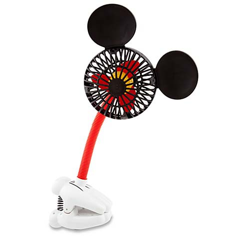 Your Wdw Store Disney Clip On Fan Mickey Mouse