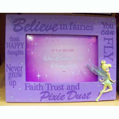 Quote Picture Frames on Your Wdw Store   Disney Picture Frame   Quotes   Tinker Bell