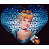 Disney Pillow - Princess Cinderella Heart