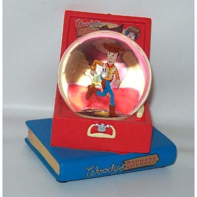 Your WDW Store - Disney Snow Globe - Toy Story - Woody's Roundup