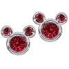 Disney Earrings - Birthstone Mickey Mouse