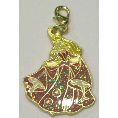 your wdw store disney dangle charm princess aurora dress