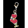 Disney Dangle Charm - DONALD'S NEPHEWS VALENTINE'S DAY