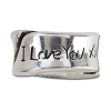 Disney Chamilia Charm - Sterling Silver I Love You More