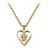 Disney Necklace - Mickey Mouse Filigree Heart