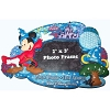 Disney Photo Frame Magnet - Four Parks One World Mickey Mouse
