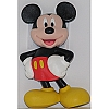 Disney Magnet - Mickey Mouse Soft Rubber