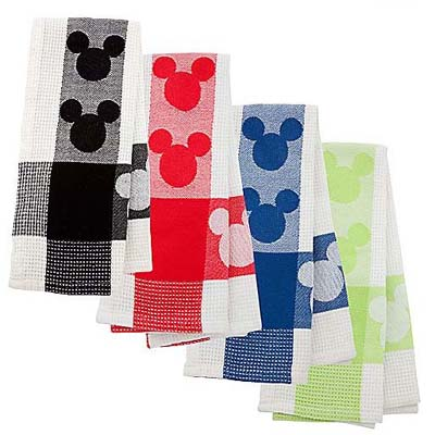 Your WDW Store - Disney Kitchen Towel - Mickey Mouse - RED