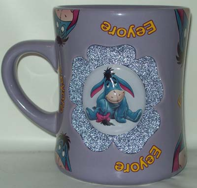 Your Wdw Store Disney Coffee Cup Mug Eeyore Flower