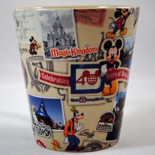 Your Wdw Store Disney Coffee Cup Mug Disney World 40th