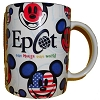 Disney Coffee Cup Mug - One Mouse One World - Epcot Mickey Mouse