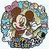 Disney Easter Pin - 2010 - Mickey Mouse