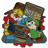 Disney Labor Day Pin - 2010 - Chip and Dale