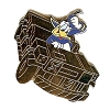 Disney Mystery Pin - Attraction Vehicles - Donald Dinosaur CHASER