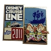 Disney Cruise Line Pin - Chip & Dale - Castaway Cay 2011