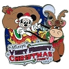 Disney Very Merry Christmas Party Pin - 2010 Passholder Mickey