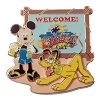 Disney Cruise Line Pin - Welcome to Castaway Cay - Mickey & Pluto