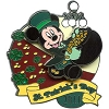 Disney St.Patrick's Day Pin - 2011 - Mickey Mouse