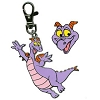 Disney Lanyard Medal and Pin Set - Figment