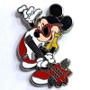 Disney Mystery Pins - Mickey Professions - Rock Star / Guitarist