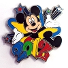 Disney Mystery Pin - Dated 2012 Mickey Mouse