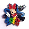 Disney Mystery Pin - Dated 2012 Minnie Mouse