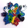 Disney Mystery Pin - Dated 2012 Donald Duck