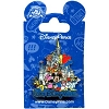 Disney World Resort Pin - Characters with Cinderella Castle